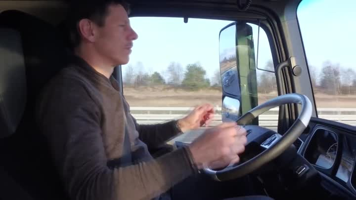 2017 Mercedes Trucks Highway Pilot Connect - Demonstration