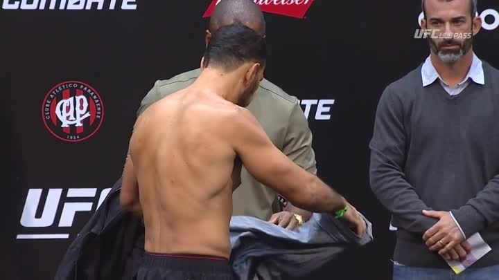 UFC 198_ Official Weigh-in