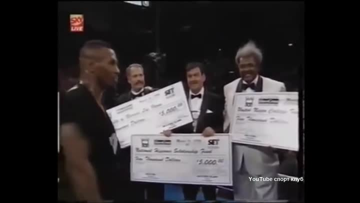 Видео: Бокс. Майк Тайсон - Фрэнк Бруно 2 бой- реванш. Mike Tyson vs Frank Bruno II