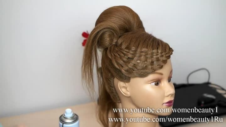 Hairstyles for long hair. Updo hairstyles. Preview