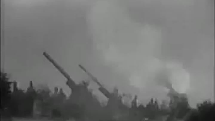 March of stalin's artillery