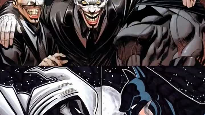 Видео: Тёмный Рыцарь (Бэтмен) vs Лунный Рыцарь Batman (DC) vs Moon Knight (Marvel) - Кто кого [bezdarno]