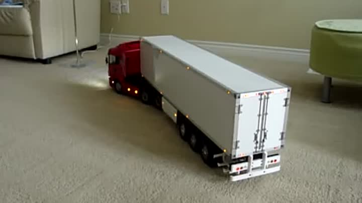 Tamiya RC Tractor Truck - Wireless Trailer Light׃ 1