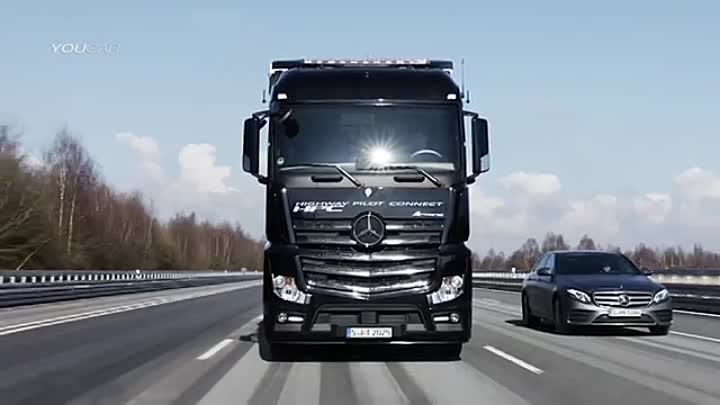 Daimler Trucks Highway Pilot Connect - Demonstration