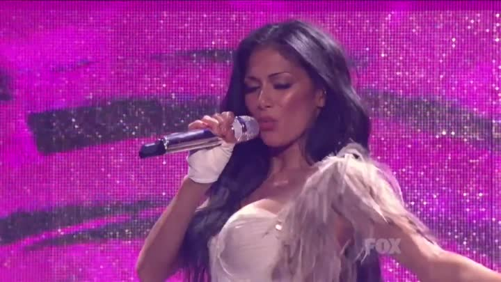 Nicole Scherzinger ft. 50 Cent - Right There Live On American Idol