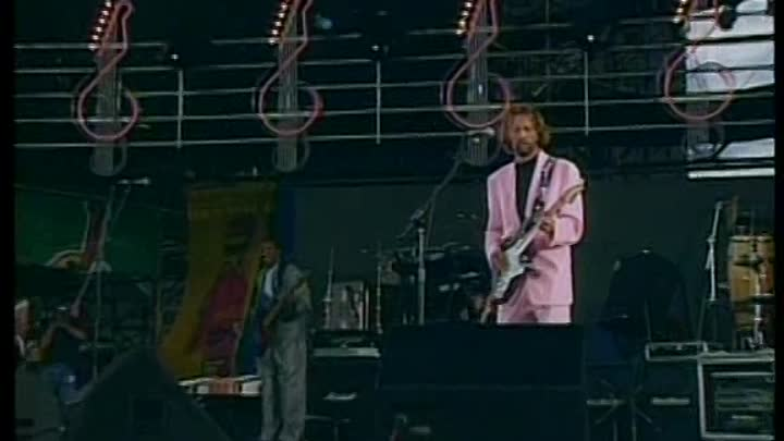 Видео: ERIC CLAPTON '' BEFORE YOU ACCUSE ME '' '' TEARIN' US APART '' 1990