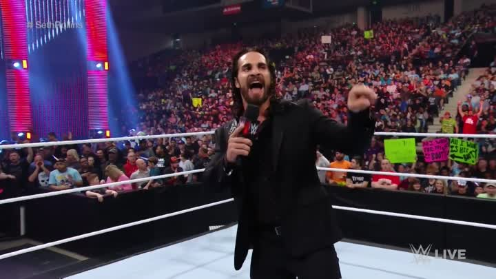 Видео: The returning Seth Rollins lashes out at the WWE Universe: Raw, May 23, 2016