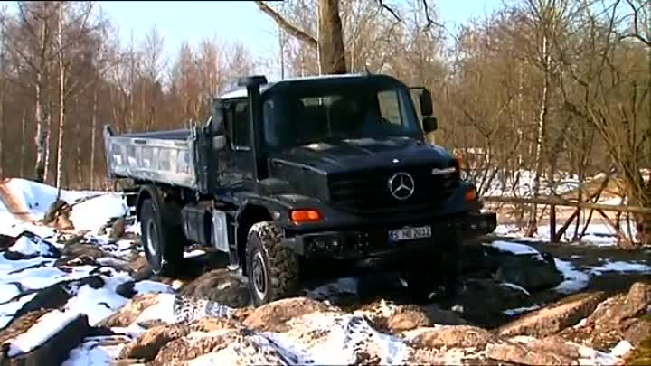 Mercedes Benz Zetros - Test