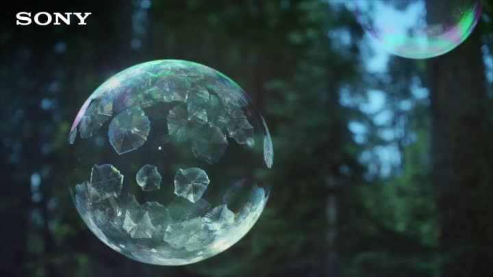 Sony 4K Ultra HD TV - Ice Bubbles in 4K