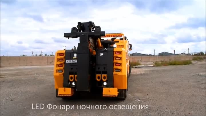 Грузовой Эвакуатор MetroTT INT-35XP Камаз 65201 (Kamaz with MetroTowTrucks Heavy Duty Wrecker)