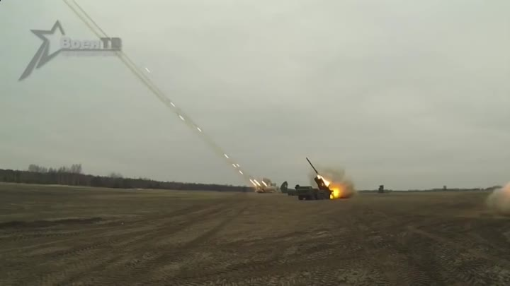 Система залпового огня Торнадо С -- system of volley fire tornado S
