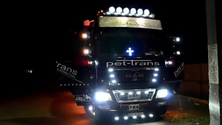Best Truck tuning show MAN TGX