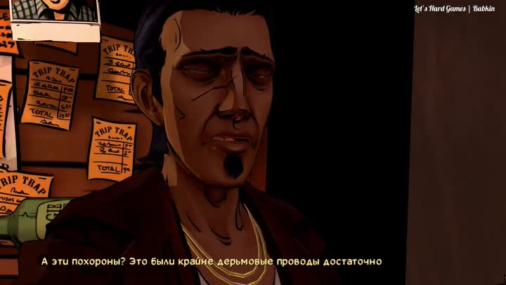 "Видео: [The Wolf Among Us | Волк Среди Нас #9] Сезон 1/Эпизод 3 - КВАРТИРА КРЕЙНА. БАР ""ЦОКОТ КОПЫТ"""