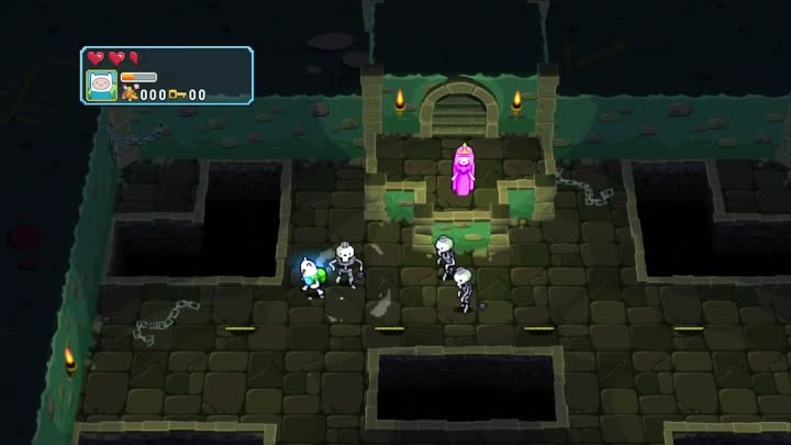 adventure time explore the dungeon because i dont know gameplay