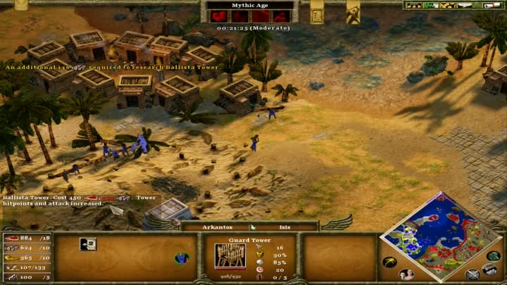 Видео: Age of Mythology: Extended Edition Fall of the Trident, Mission 15 Let's go