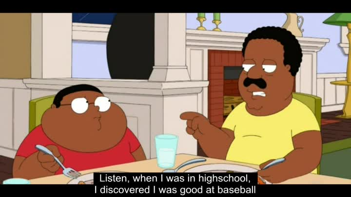 Видео: The Cleveland Show - Find what you're good at