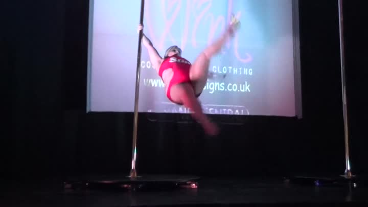 Emma Haslam - Professional Category - Lincolnshire Pole Championships 2014
