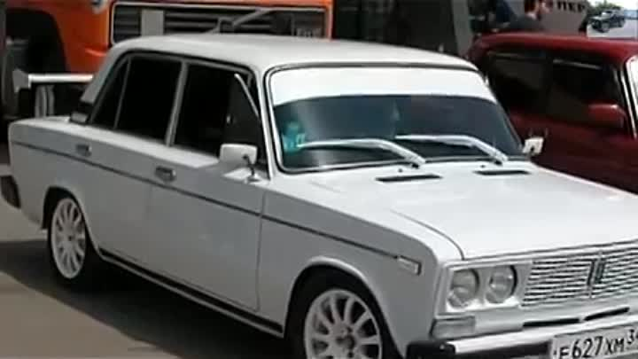 VAZ 2106 SUPER RETRO CAR TUNING ВАЗ 2106 - ШАХА СУПЕР ТАЧИЛА