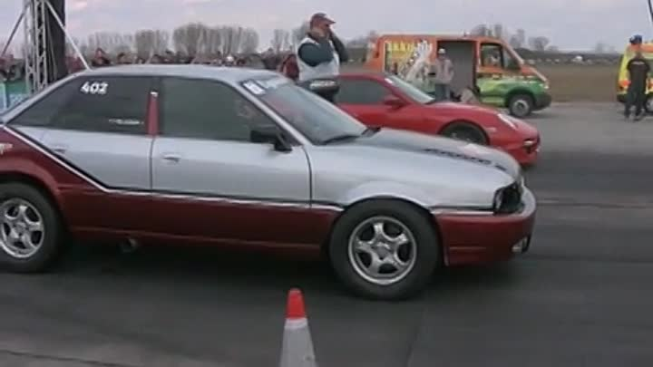 Audi 90 Quattro Turbo Vs. Porsche 997 Turbo