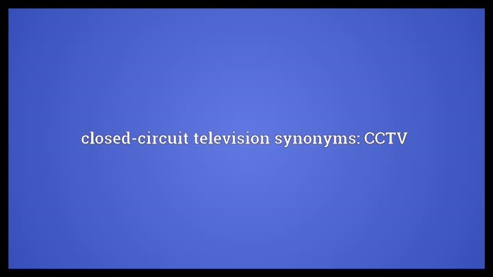 closed circuit television cctv case study essay Introduction to closed circuit television from cctv information (cctv) is a system in which the circuit is closed and all the elements are directly connected.
