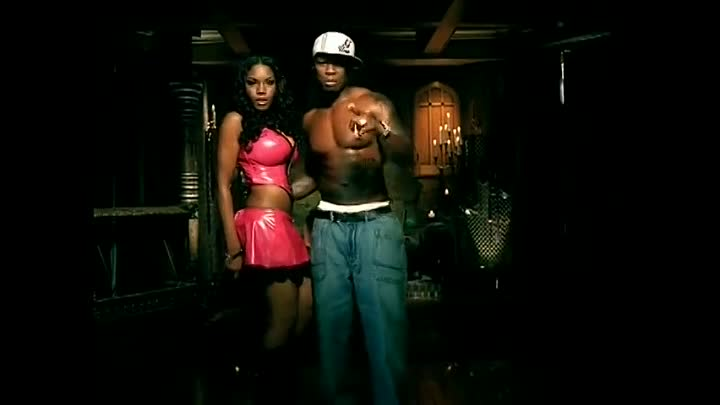 50 Cent feat. Olivia - Candy shop (клип)