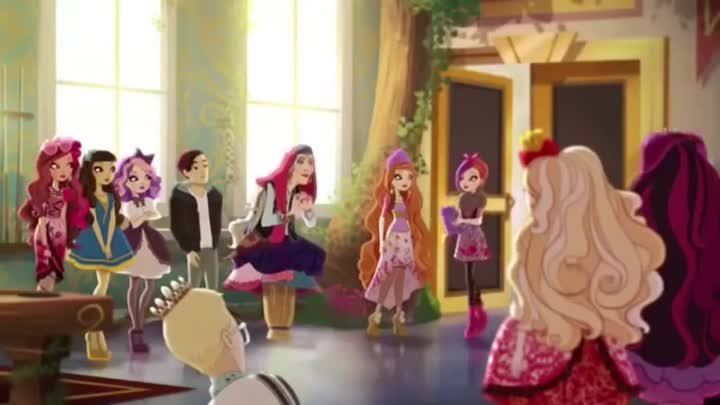 Видео: Ever after high.Клип Нюша-Пёрышко