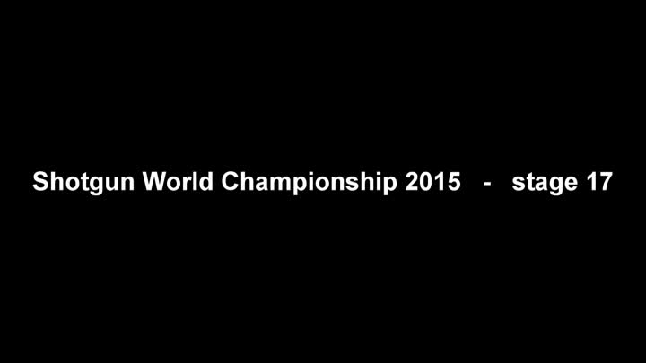 Shogun World Championship 2015 - stage 17