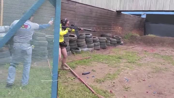 Anna Yants - Shotgun match 2014