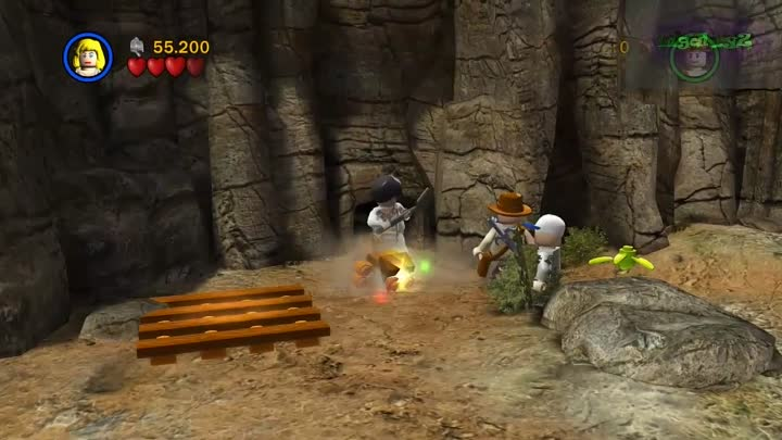 Lego Indiana Jones Original Adventures.Храм судьбы.Глава 6-Бои на мосту (финал)