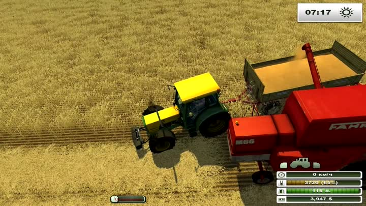 Farming Simulator 2013 - 3 серия: Шабашка + минута молчания - Пол Уокер
