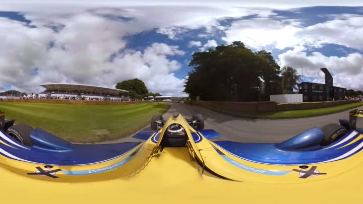 Formula E 360 @ Goodwood FOS