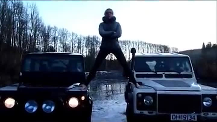 Volvo Trucks The Epic Split feat. Van Damme. Land Rover Experience Norway