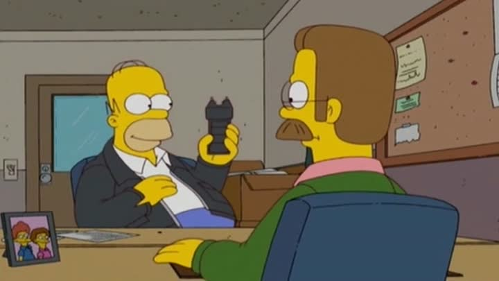 Видео: The Simpsons - This taser is awesome