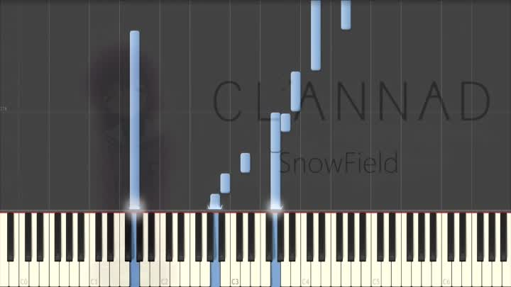 Clannad After Story] Key anime piano suite Piano Synthesia Tutorial