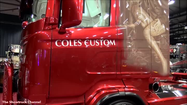 """SCANIA V8"""" VENDETTA"""" BY COLES & SONS"""
