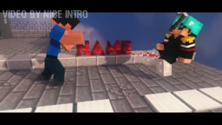 3D Amazing TOP 10 Minecraft Animation Intro Template | Free