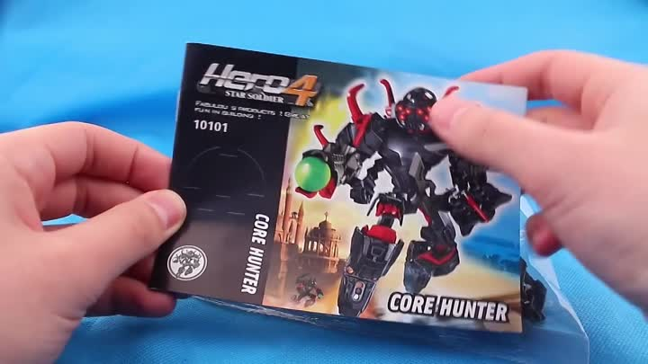 Core Hunter Hero Factory 4, обзор Decool 10101 Star soldier