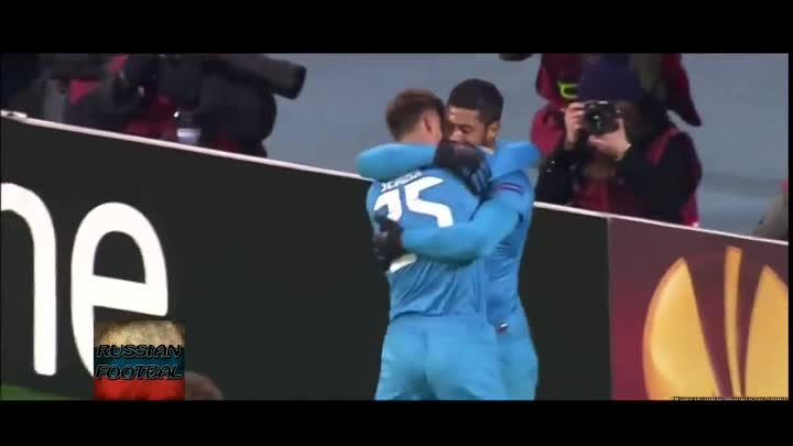 Видео: Zenit St. Petersburg 2-0 Liverpool 14.02.2013 All Goals and Highlights