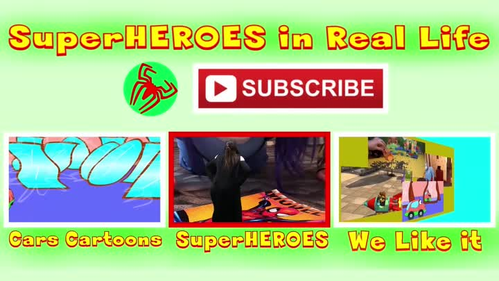 Видео: Watch SuperHEROES in Real Life on SHiRLife Channel