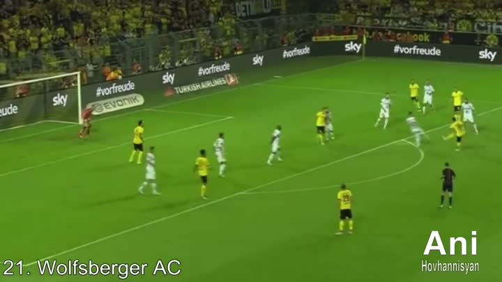 ВСЕ ГОЛЫ МХИТАРЯНА ЗА БОРУССИЮ ДОРТМУНД. Henrikh Mkhitaryan - All goals for Borussia Dortmund 1080p HD