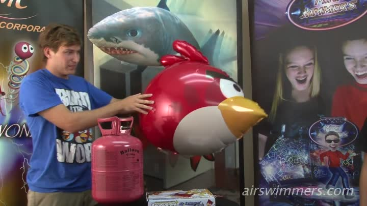 Angry Birds Air Swimmers Instructional Video