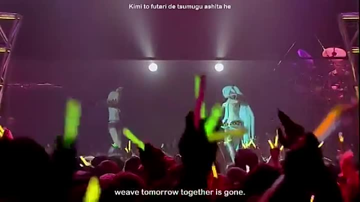 Видео: Promise - Hatsune Miku & Rin Kagamine Project DIVA Live -eng subs