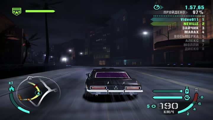 Видео: Need For Speed Carbon 2 Part (часть) Ford Mustang GT tuning