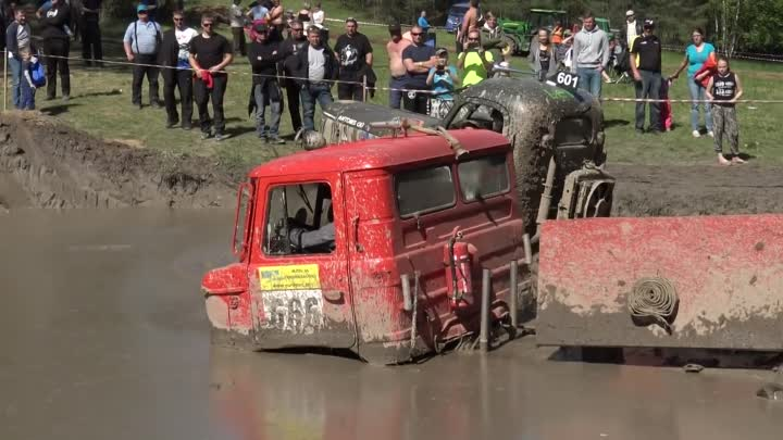 Видео: OffRoad Truck Water pit ORO 2016