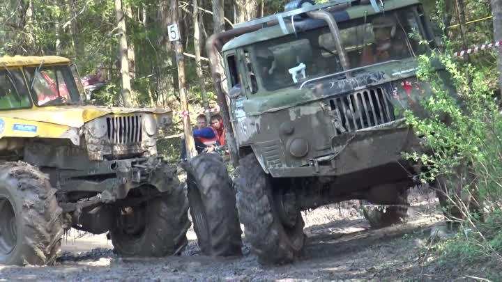 OffRoad Truck Water pit ORO 2016