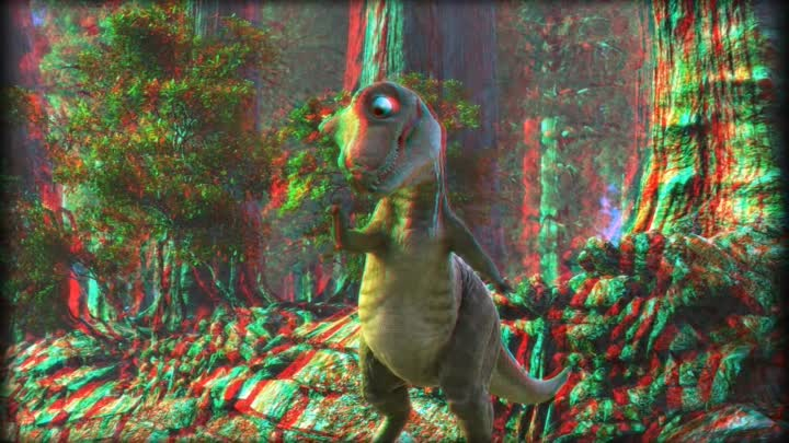 3D Video Anaglyph 3D Movie Trailer - PANGEA The Neverending World - 3D Animation 2009