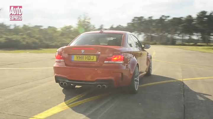 Audi RS3 Sportback v BMW 1 Series M Coupe Drag Race - Auto Express
