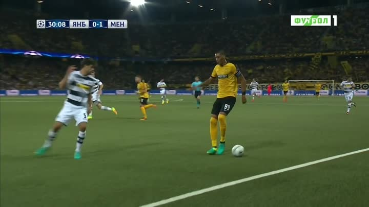 Видео: UCL 2016-17 - Play-off Round - 16.08.2016 - 1st Leg - BSC Young Boys v Borussia M - 720p 50fps - Papai