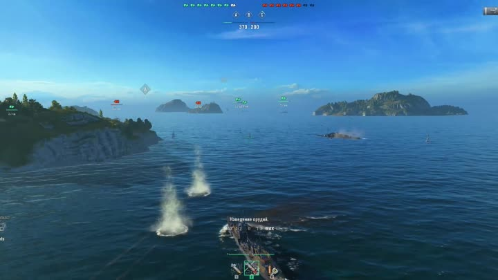 Видео: WORLD OF WARSHIPS ....