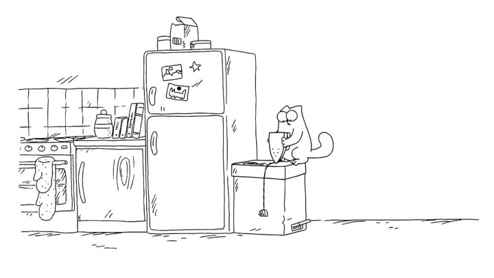 Trash Cat - Simon's Cat